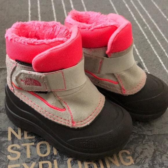 edd7afd0f The North Face Girls' toddler Powder-Hound boots